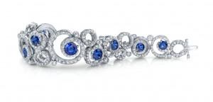 Sapphire & Diamond Award Winning Bracelet