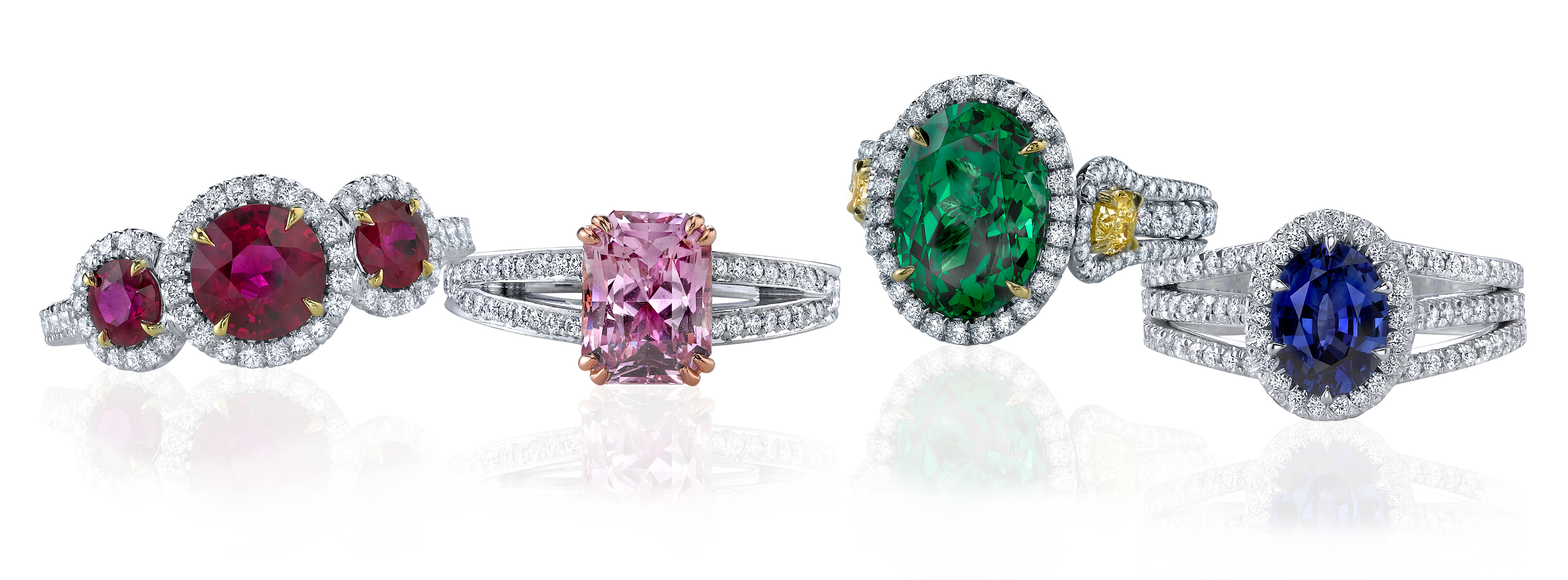 s traveler engagement for picchiotti features valentines elite to five buy gemstone colored rings day valentine