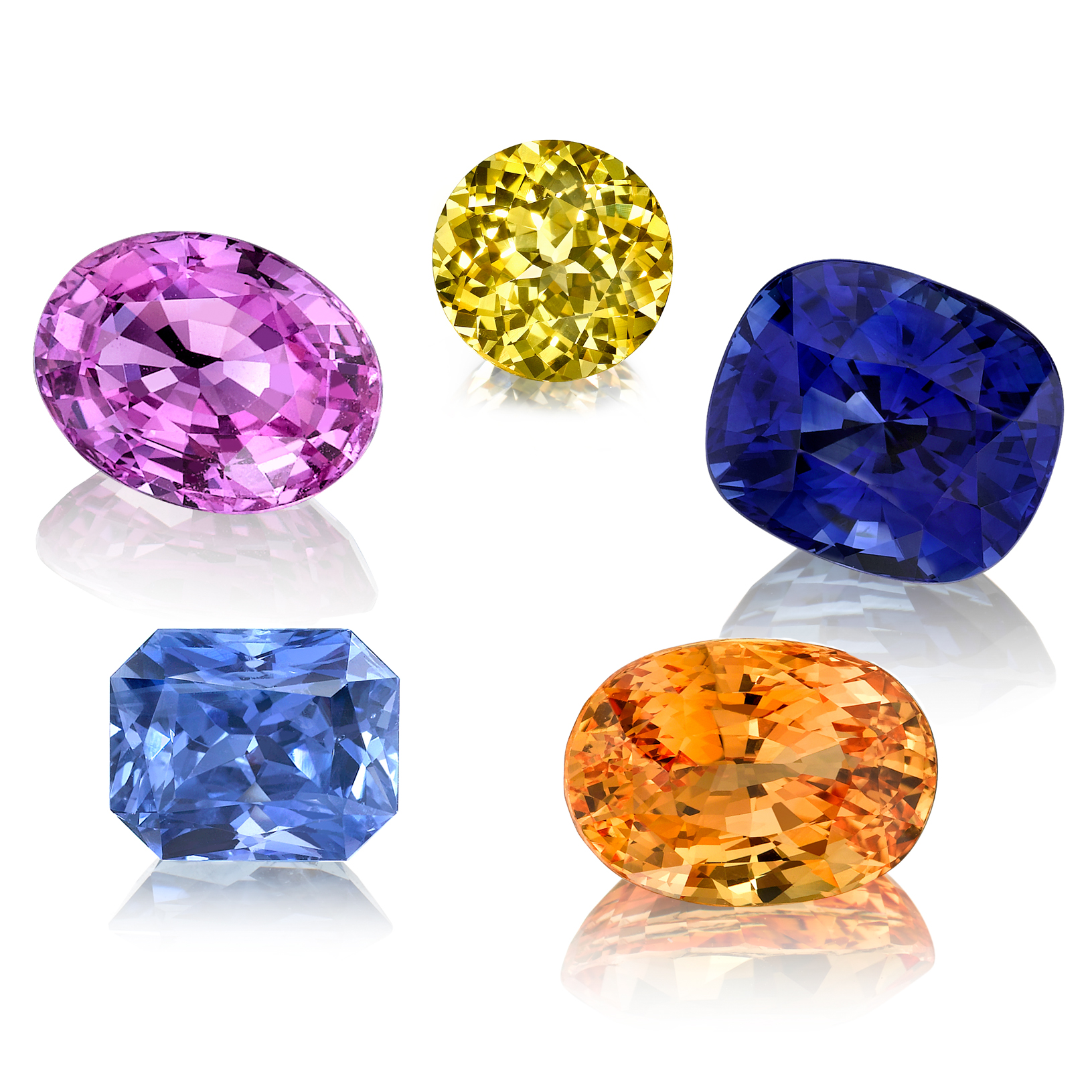 gemstone the world valuable mixed in cut tanzanite gemstones purple color most