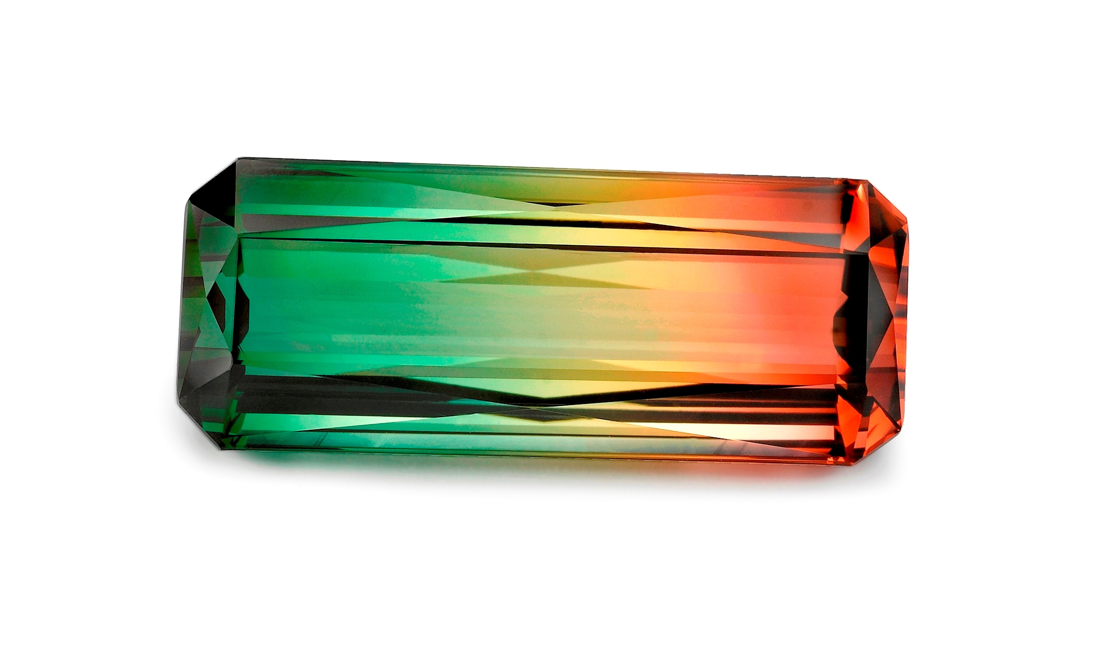 Bi Color Natural Tourmaline