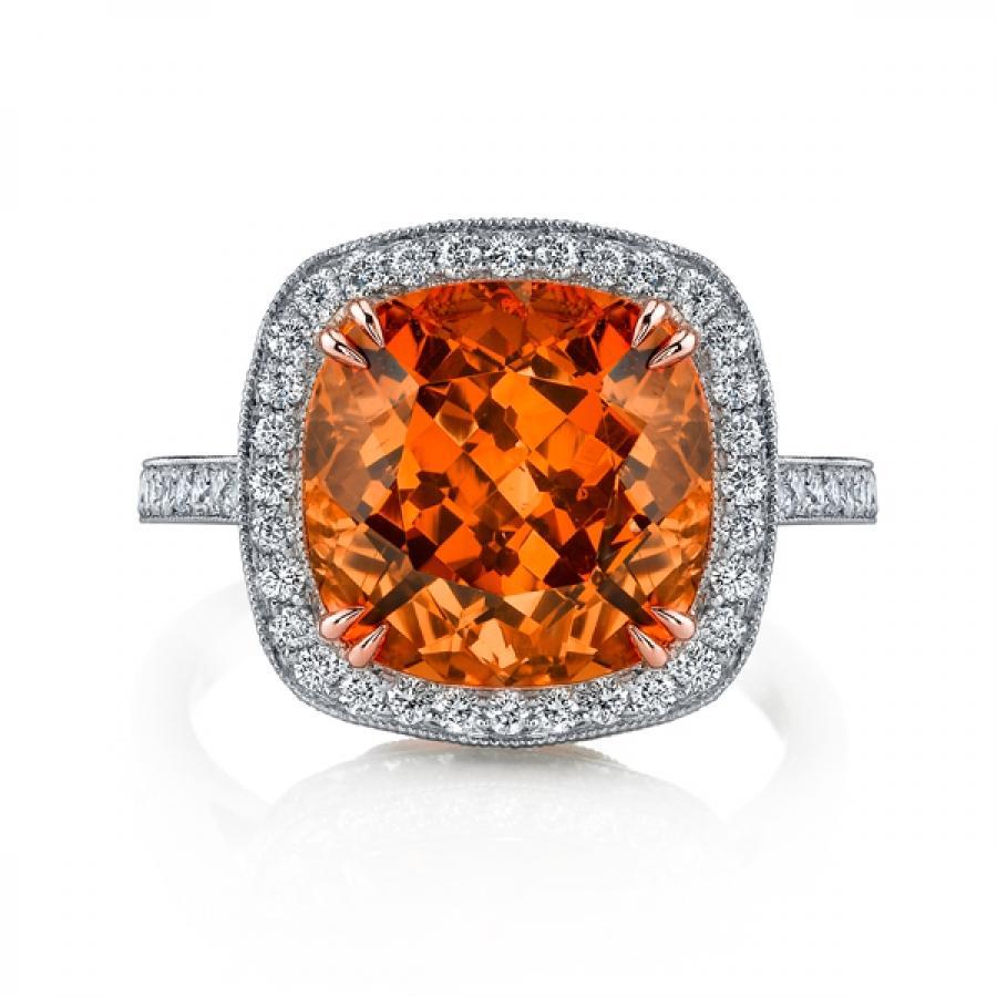 Imperial Garnet Ring