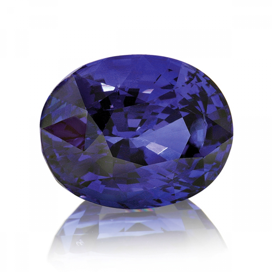 natural block auctions gemstone crt tanzanite d faceted color top