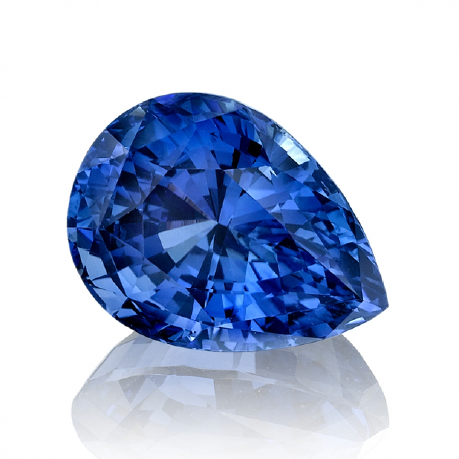 sapphire enhancement gemstones carat no heat shape gemstone of blue evidence cushion sku